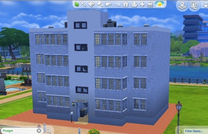 Sims 4 1970 Public Housing by whanghansong at Mod The Sims