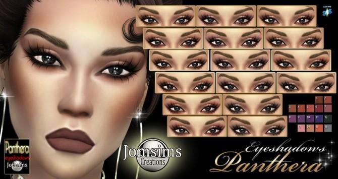 Sims 4 Panthera eyeshadows at Jomsims Creations