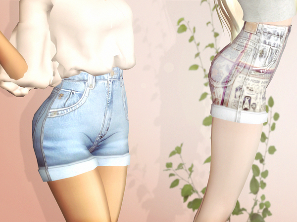 Reckless Shorts by serenity cc at TSR image 32 Sims 4 Updates