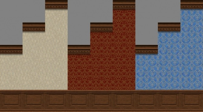 Sims 4 Mansion Panels Part 01 by TheJim07 at Mod The Sims
