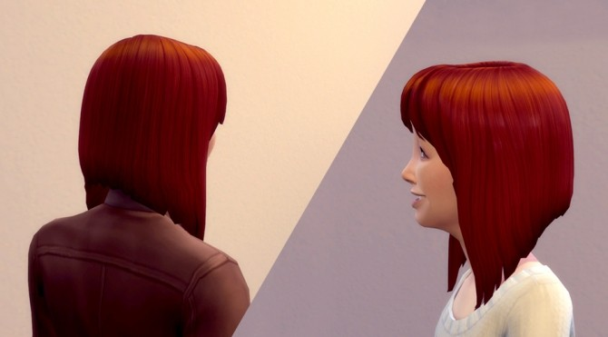 Angled Long Bob Hair by Kya Sarin at Mod The Sims image 362 670x371 Sims 4 Updates
