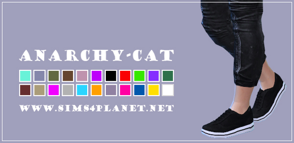 Madlen Torun Sneakers Male at Anarchy Cat image 3718 Sims 4 Updates