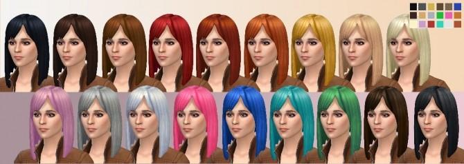 Angled Long Bob Hair by Kya Sarin at Mod The Sims image 372 670x238 Sims 4 Updates