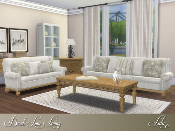 Sims 4 Birch Lane Living by Lulu265 at TSR