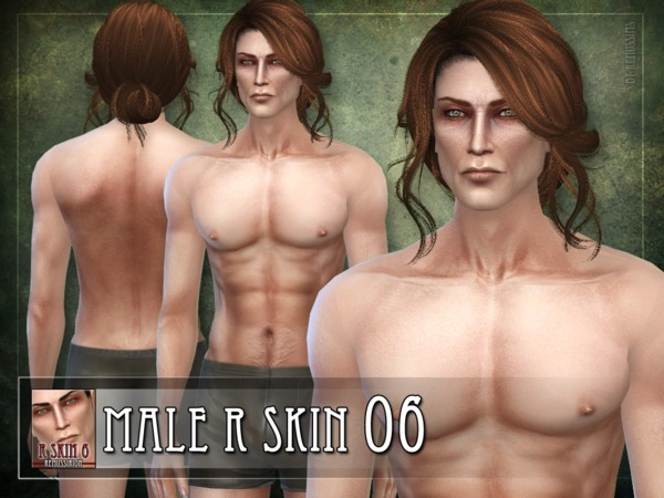 Sims 4 R skin 06 male by RemusSirion at TSR