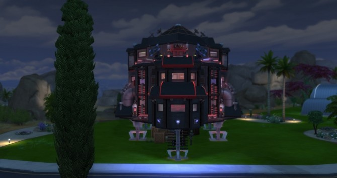 Sims 4 Starship Explorer (Aliens Ship) by popinette113 at Mod The Sims