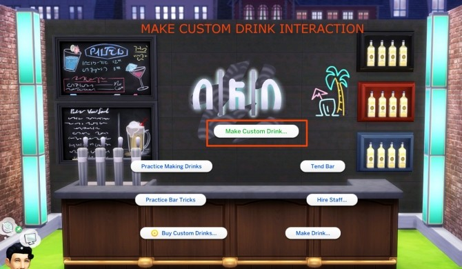Custom Drink Interactions by TheFoodGroup at Mod The Sims image 404 670x390 Sims 4 Updates