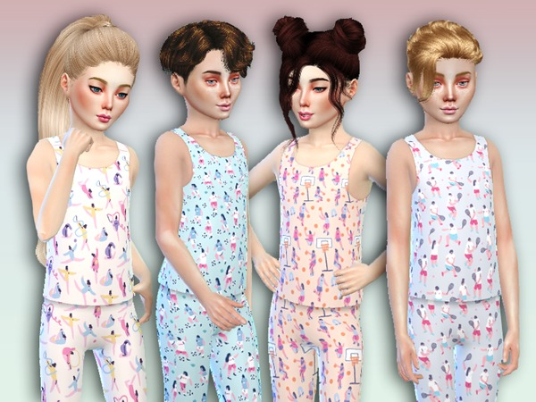Sims 4 Gioco Set For Children by Simlark at TSR