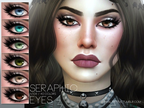 Seraphic Eyes N106 by Pralinesims at TSR image 413 Sims 4 Updates