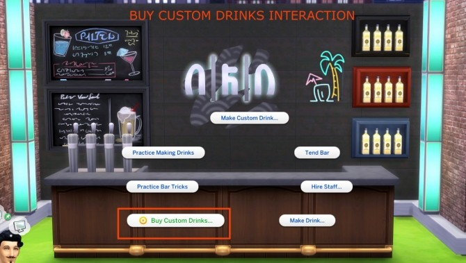 Custom Drink Interactions by TheFoodGroup at Mod The Sims image 414 670x379 Sims 4 Updates