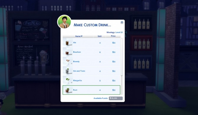 Custom Drink Interactions by TheFoodGroup at Mod The Sims image 423 670x391 Sims 4 Updates
