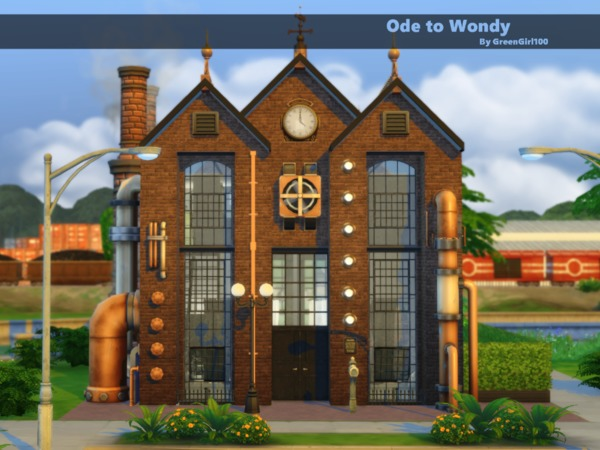 Sims 4 Ode to Wondy by Green Girly100 at TSR