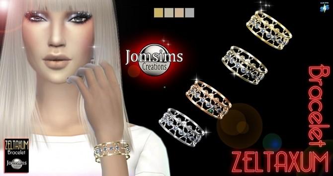 Sims 4 Zeltaxum bracelet at Jomsims Creations