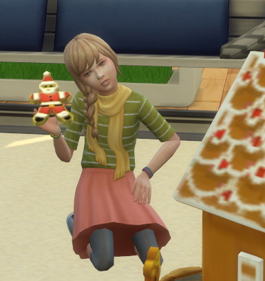 2 to 4 Gingerbread Dollhouse Plus Cookies as toys by BigUglyHag at SimsWorkshop image 4316 Sims 4 Updates