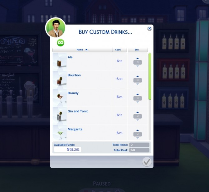 Custom Drink Interactions by TheFoodGroup at Mod The Sims image 433 670x615 Sims 4 Updates