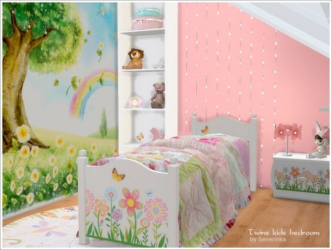 Twins kids bedroom at Sims by Severinka image 4610 670x505 Sims 4 Updates
