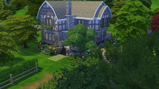 Sims 4 Woodland Cottage by PolarBearSims at Mod The Sims