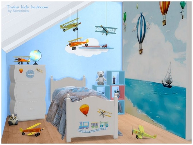 Twins kids bedroom at Sims by Severinka image 4710 670x505 Sims 4 Updates