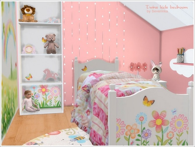 Twins kids bedroom at Sims by Severinka image 4810 670x505 Sims 4 Updates