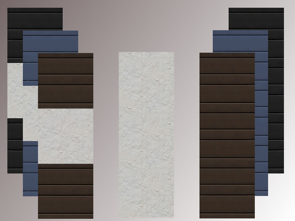 Sims 4 Vigo panels by marychabb at TSR