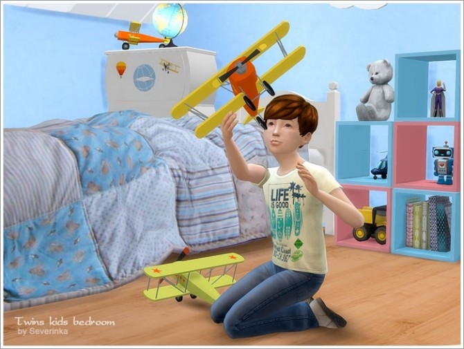 Twins kids bedroom at Sims by Severinka image 4910 670x505 Sims 4 Updates