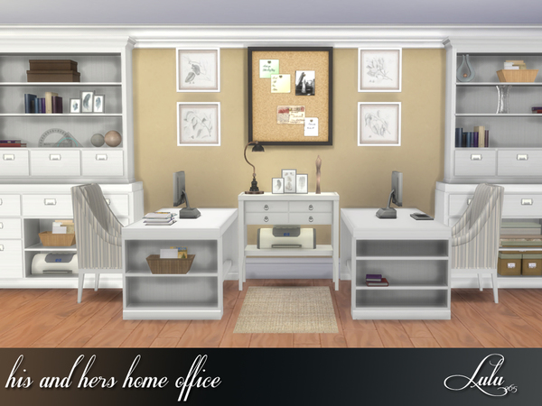 His And Hers Home Office By Lulu265 At Tsr