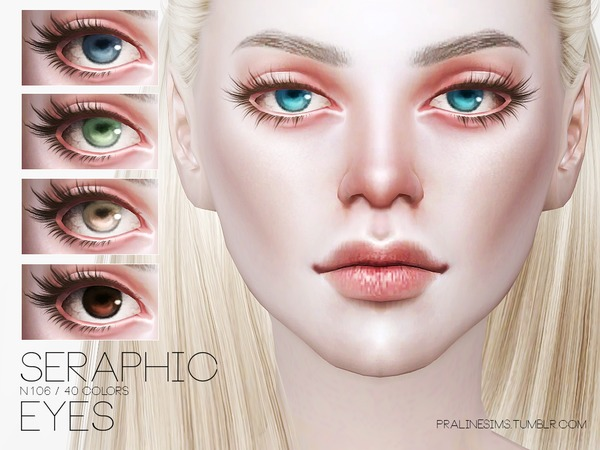 Seraphic Eyes N106 by Pralinesims at TSR image 514 Sims 4 Updates