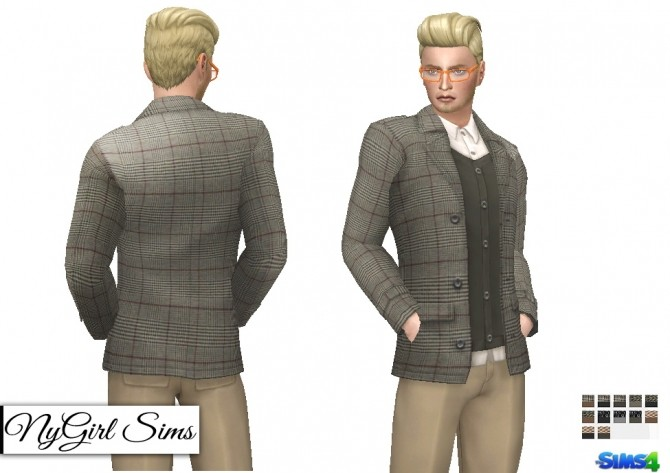 Layered Suit Jacket at NyGirl Sims image 525 670x473 Sims 4 Updates
