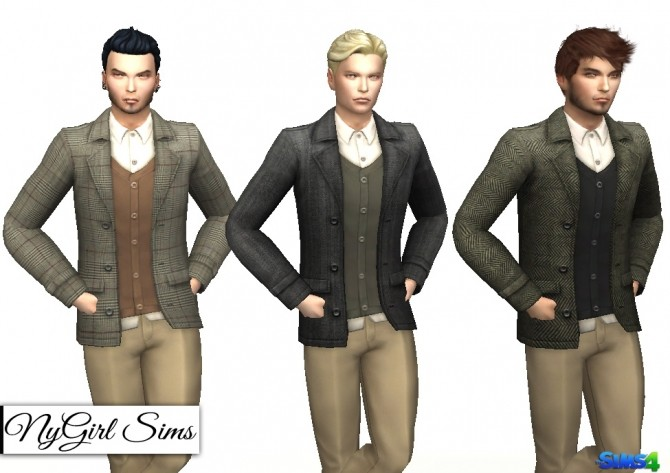 Sims 4 Layered Suit Jacket at NyGirl Sims