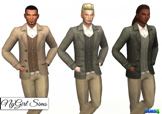 Layered Suit Jacket at NyGirl Sims image 545 670x473 Sims 4 Updates