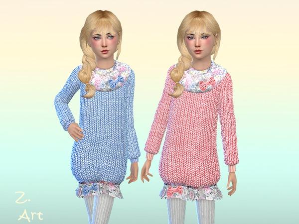 Sims 4 Balloon dress by Zuckerschnute20 at TSR