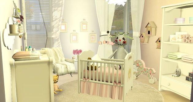 BabyGirl Room at Caeley Sims image 5615 Sims 4 Updates