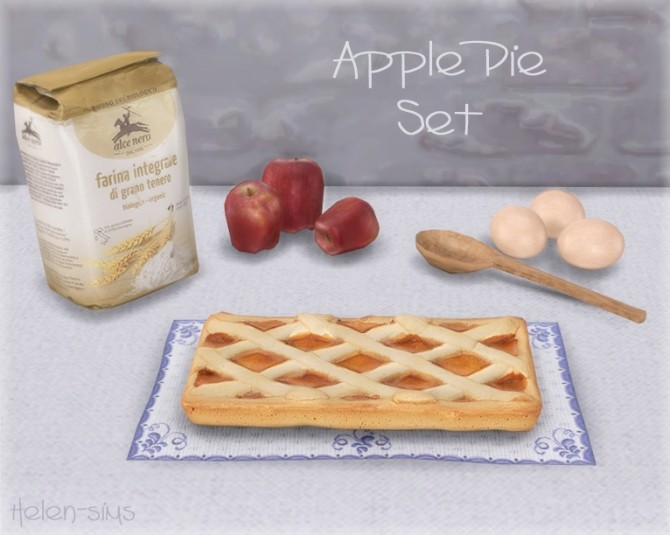 Apple Pie Set at Helen Sims image 5617 670x535 Sims 4 Updates
