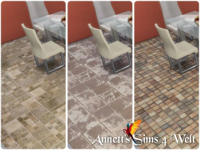 Sims 4 Old Tiles Floors at Annett's Sims 4 Welt