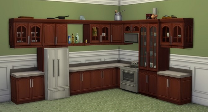 Sims 4 Tall Order Cabinets Expansion by Madhox at Mod The Sims