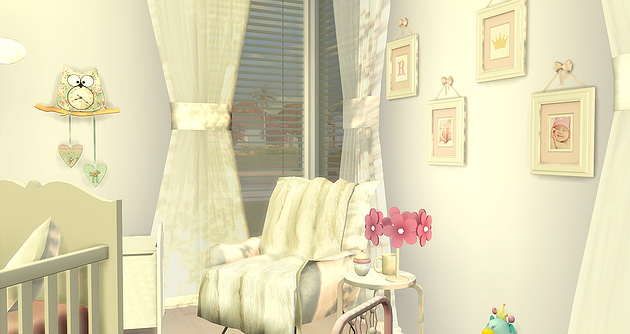 BabyGirl Room at Caeley Sims image 5814 Sims 4 Updates