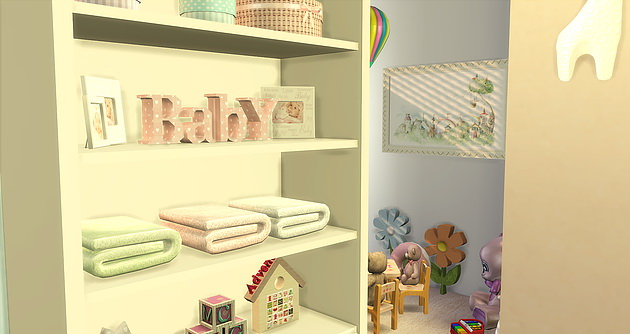 BabyGirl Room at Caeley Sims image 5915 Sims 4 Updates
