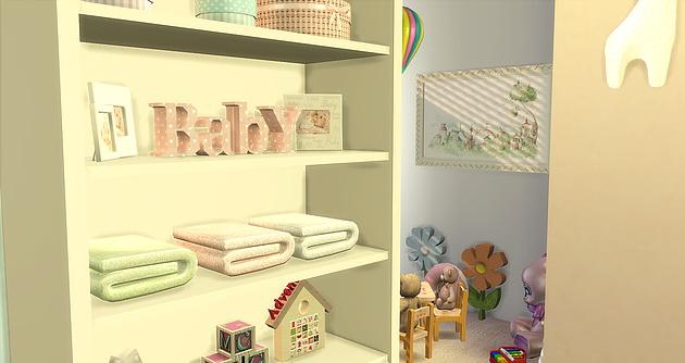 Sims 4 BabyGirl Room at Caeley Sims