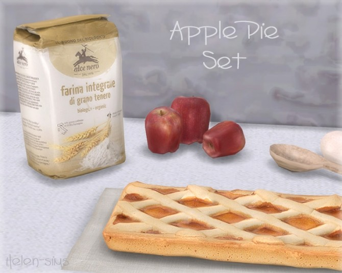 Apple Pie Set at Helen Sims image 5917 670x535 Sims 4 Updates