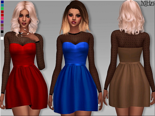S4 Forever Young Dress by Margeh75 at Sims Addictions image 5918 Sims 4 Updates