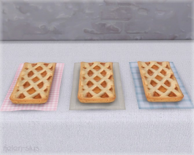 Apple Pie Set at Helen Sims image 6017 670x535 Sims 4 Updates