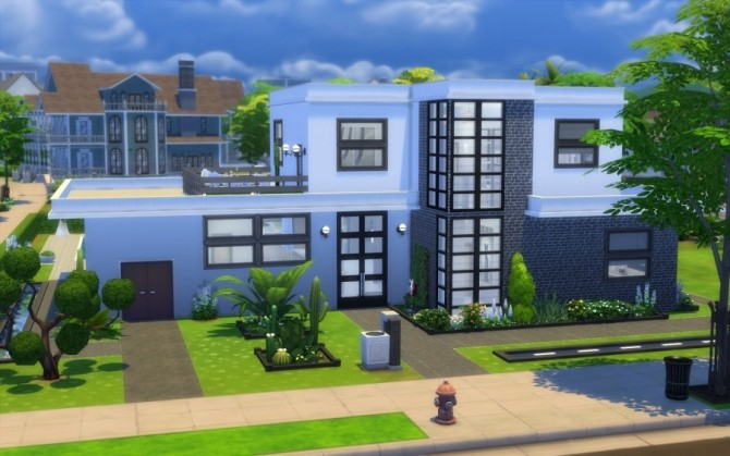 LAgapanthe house by Bloup at Sims Artists image 608 670x419 Sims 4 Updates