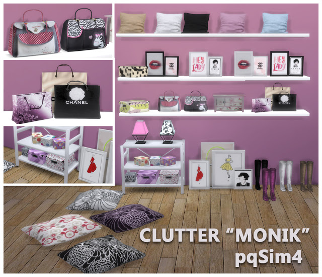 Monik Bedroom Clutter By Mary Jim 233 Nez At Pqsims4 187 Sims 4