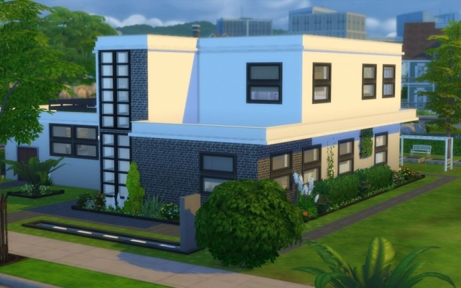 LAgapanthe house by Bloup at Sims Artists image 6112 670x419 Sims 4 Updates