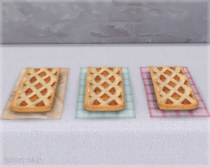 Apple Pie Set at Helen Sims image 6121 670x535 Sims 4 Updates