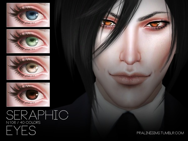 Seraphic Eyes N106 by Pralinesims at TSR image 614 Sims 4 Updates