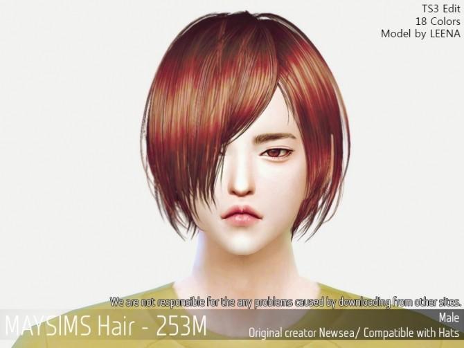 Sims 4 Hair 253M (Newsea) at May Sims