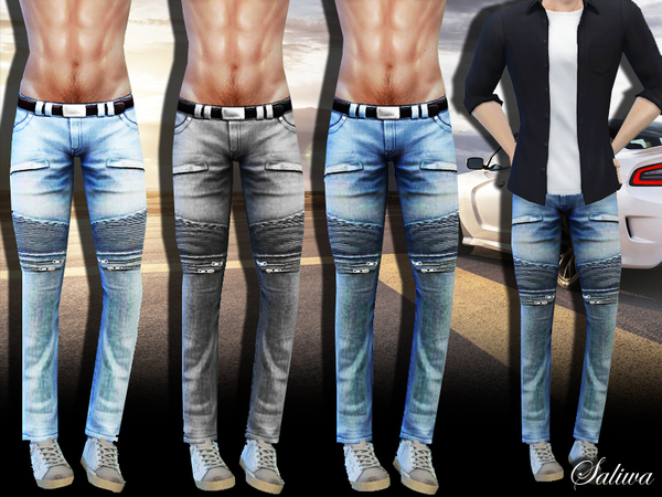 Men Casual Style Jeans by Saliwa at TSR image 670 Sims 4 Updates