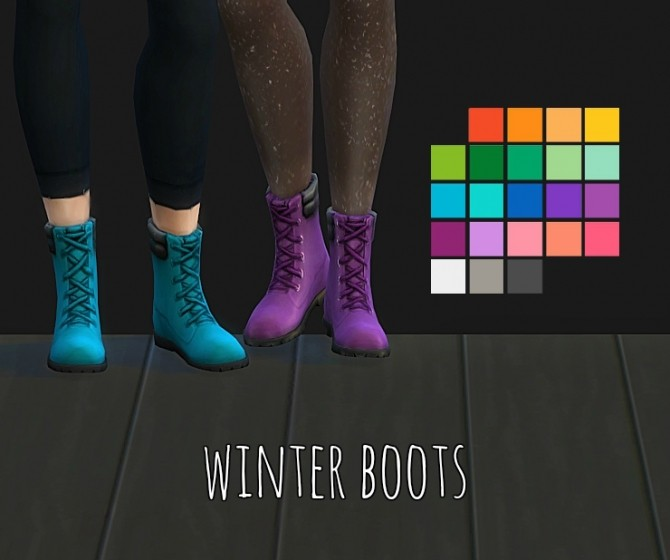 Winter Boots at Maimouth Sims4 image 673 670x560 Sims 4 Updates