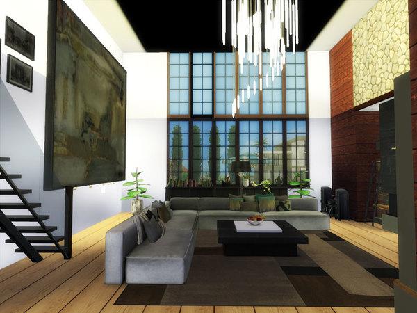 Sims 4 Alma house by Danuta720 at TSR